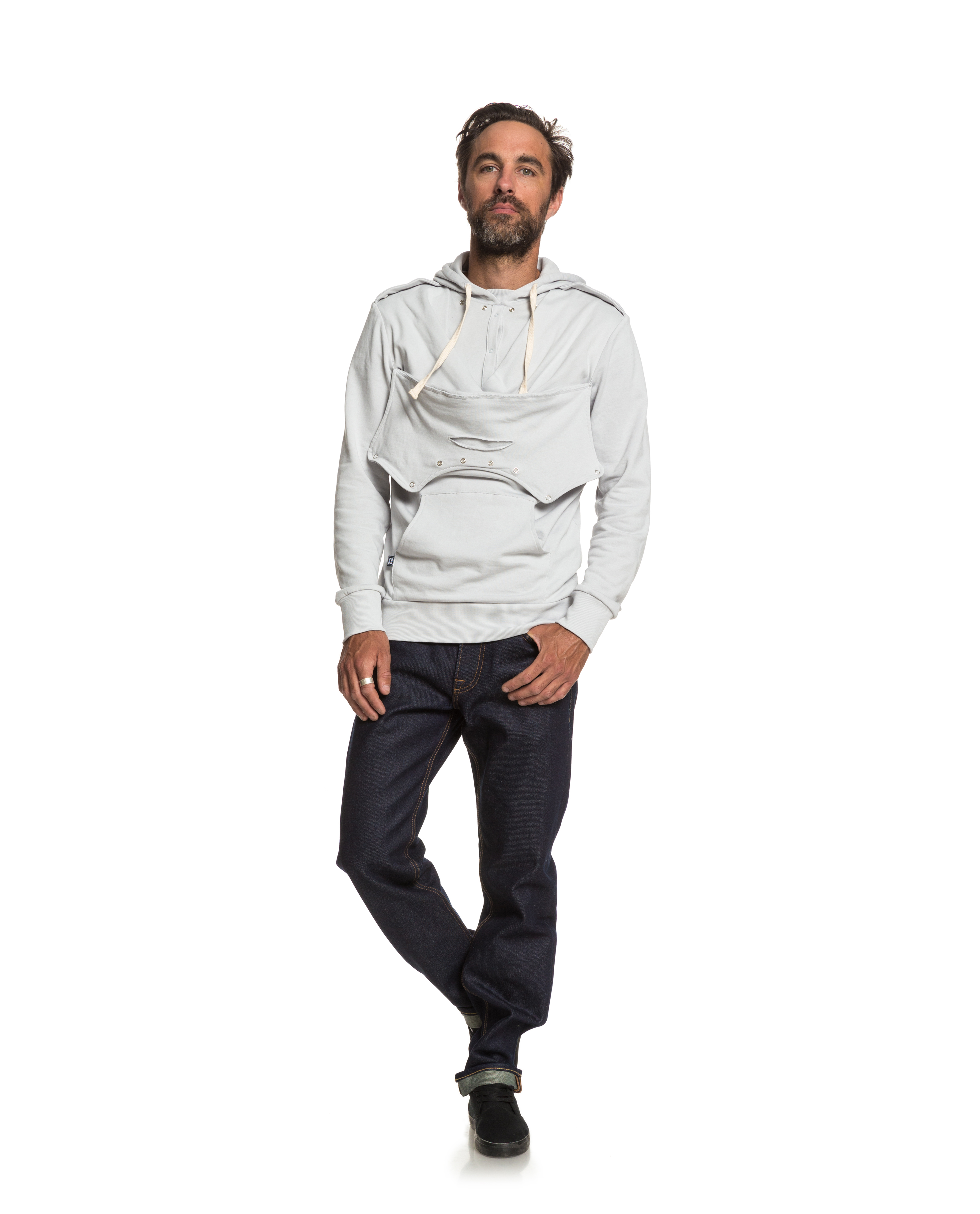 Daddy and Mama play Homme - light grey