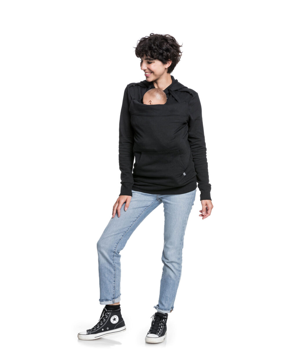sweat-porte-bebe-Mama-Plays-Noir-1