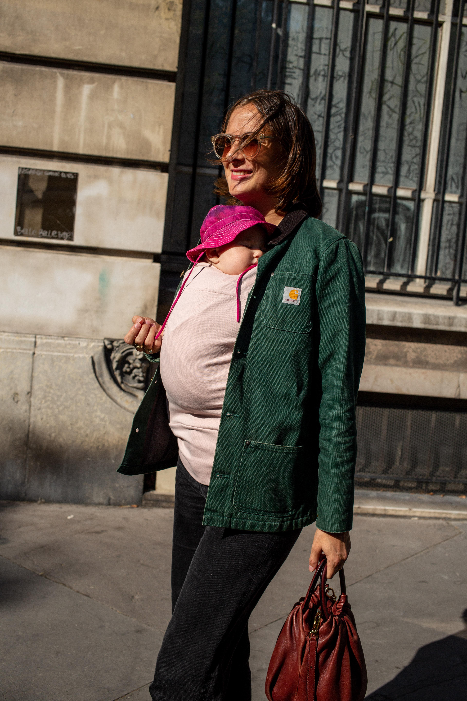 vetement de portage bébé mama hangs