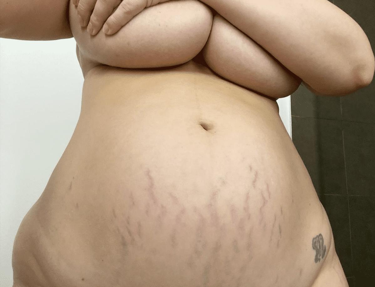 ashley graham affiche son postpartum