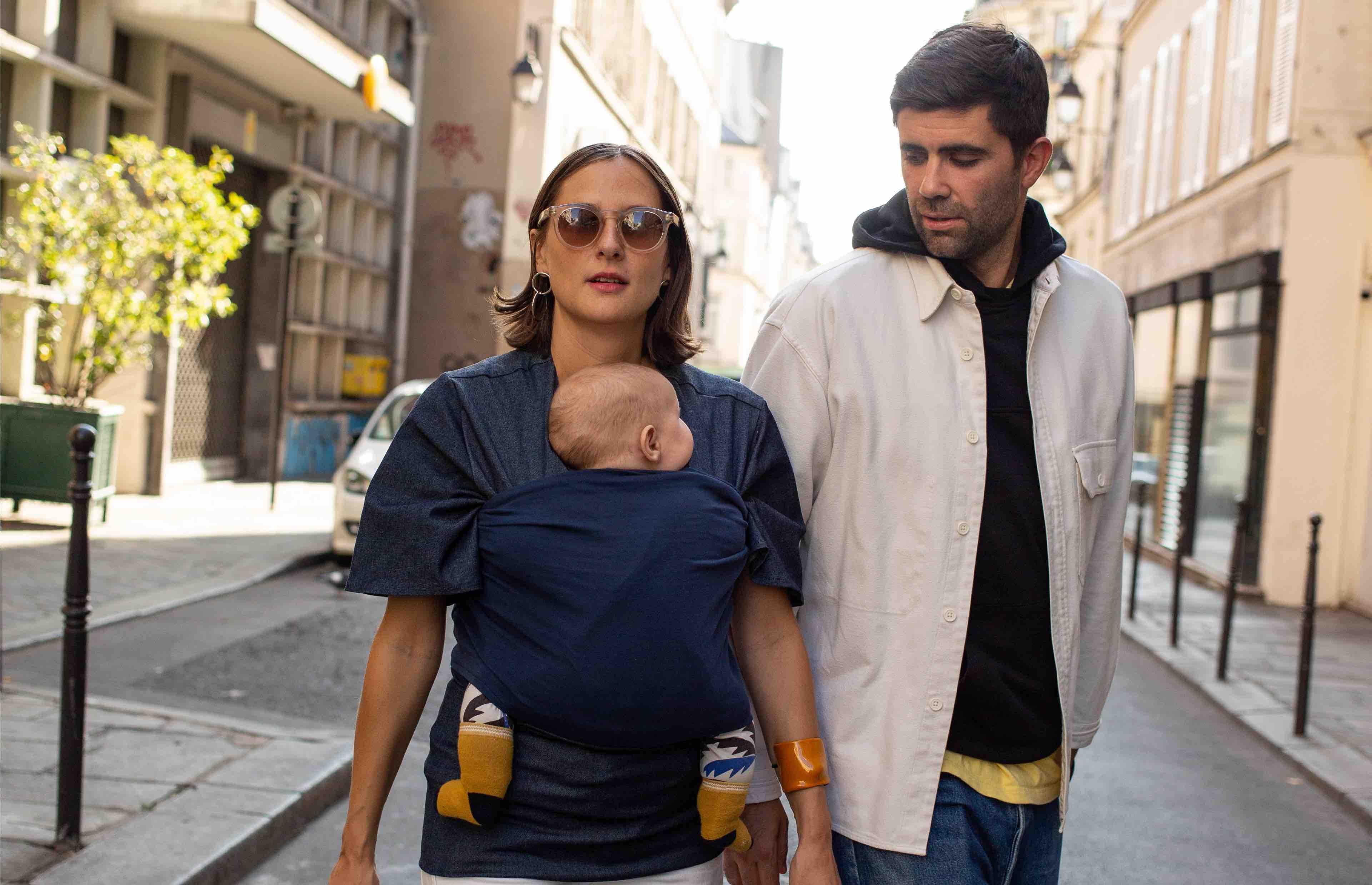 Mama Hangs vêtement porte bébé